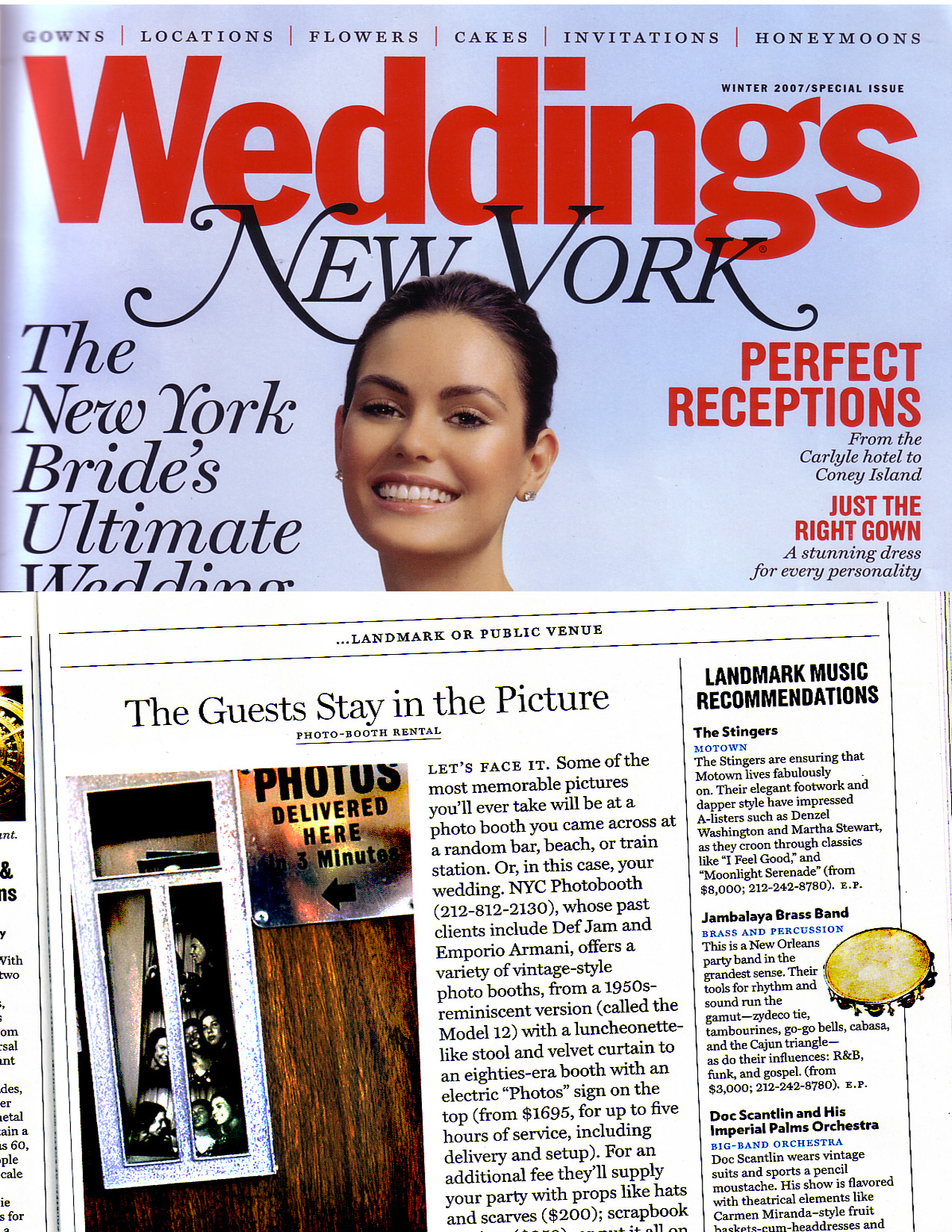 New York Magazine Wedding Issue 2006